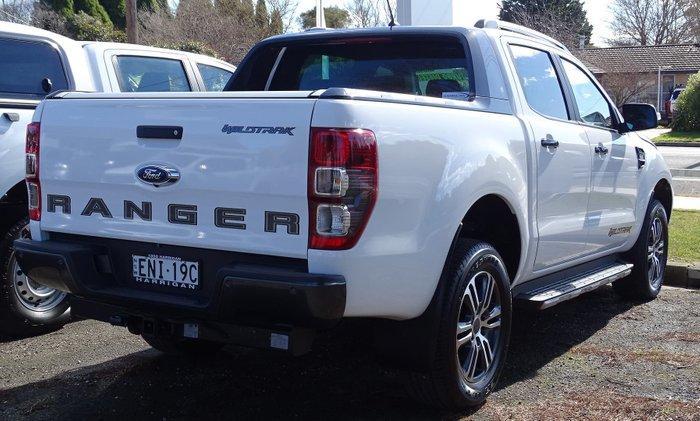 2020 Ford Ranger Wildtrak PX MkIII MY20.25 4X4 Dual Range Arctic White