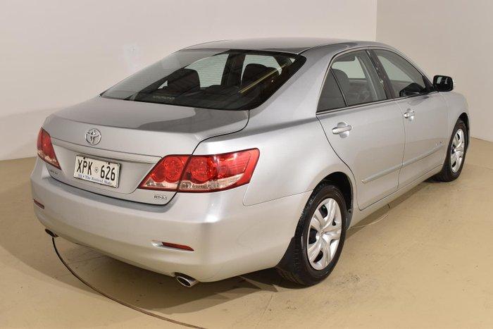 2008 Toyota Aurion AT-X GSV40R Silver