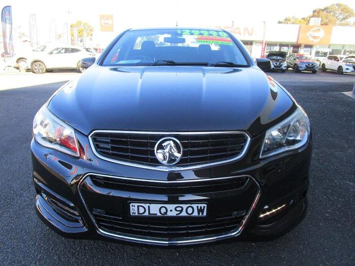 2013 Holden Ute SV6 VF MY14 Black