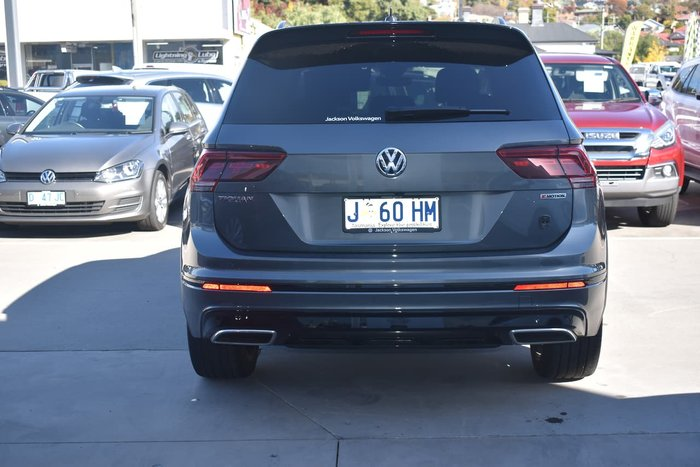 2018 Volkswagen Tiguan Wolfsburg Edition 5N MY19 Four Wheel Drive Grey