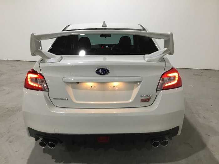 2017 Subaru WRX STI V1 MY17 AWD White