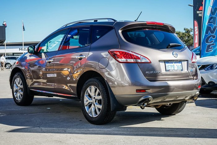 2013 Nissan Murano Ti Z51 Series 4 MY14 4X4 Constant Tinted Bronze