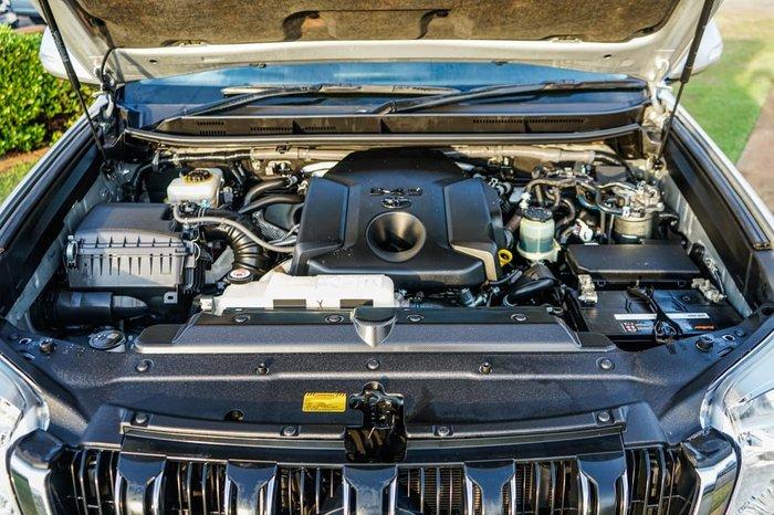 2016 Toyota Landcruiser Prado GXL GDJ150R 4X4 Dual Range Silver Pearl