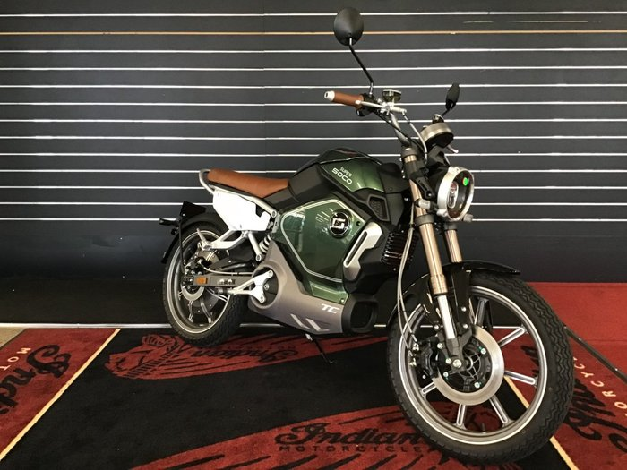 2020 Super Soco TC CAFE RACER Green