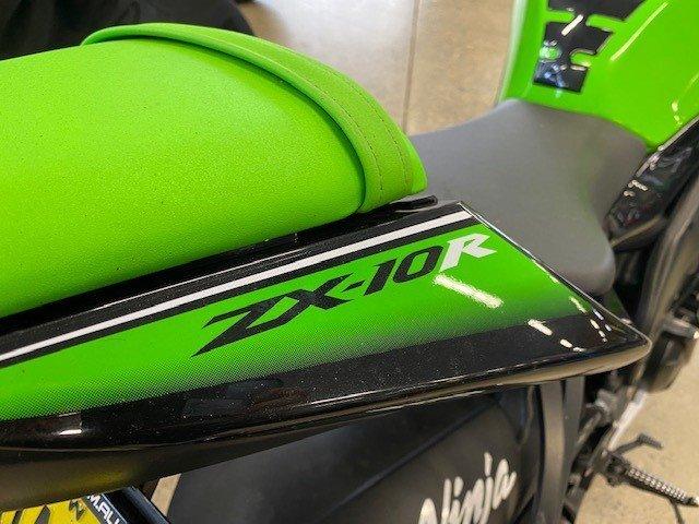 2010 Kawasaki ZX-10R (ZX1000 NINJA) Green