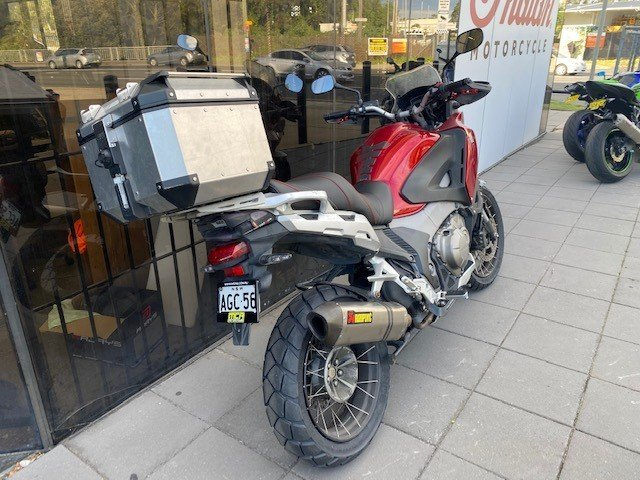 2012 Honda VFR1200X CROSS TOURER Red