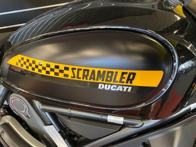 2019 DUCATI SCRAMBLER FULL THROTTLE Black