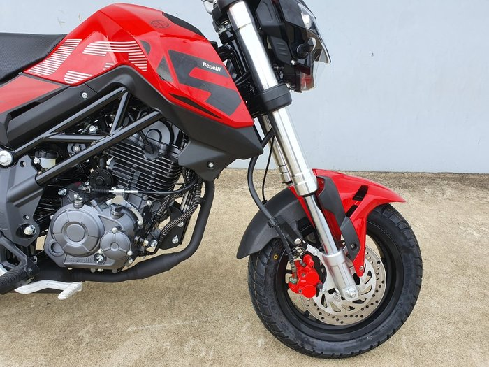 2021 Benelli TNT 135 Road Red