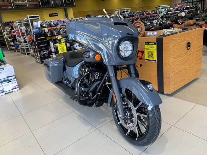 2021 Indian 2021 INDIAN 1900CC CHIEFTAIN DARK HORSE STEALTH GREY Grey