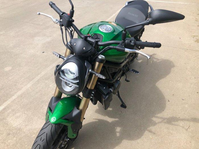 2020 Benelli 752S Green