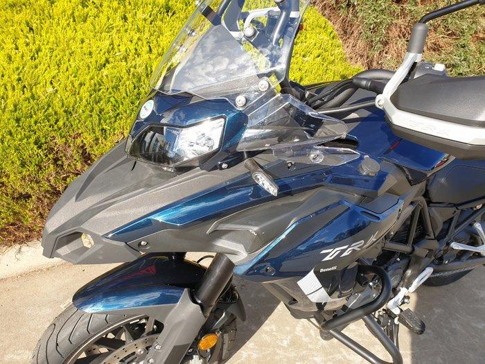 2021 Benelli TRK 502 (ABS) Blue