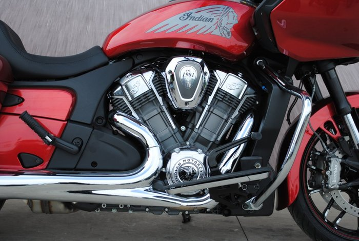 2020 Indian CHALLENGER LIMITED RUBY MET Red