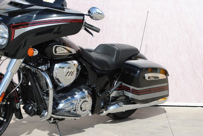 2020 Indian CHIEFTAIN LIMITED THUNDR BLACK Black