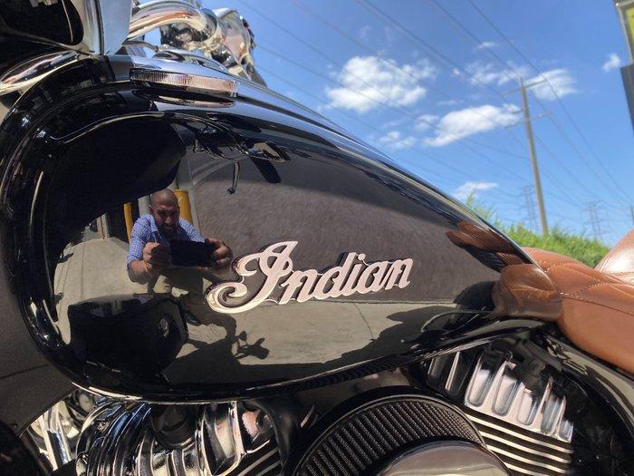 2015 Indian ROADMASTER THUNDER BLACK Black