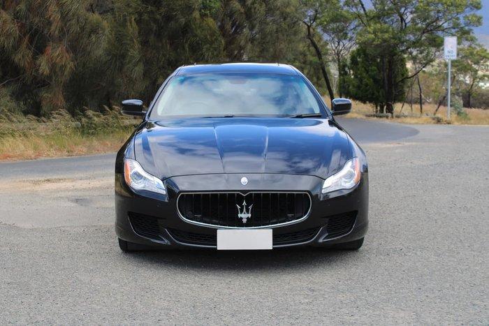 2015 Maserati Quattroporte M156 MY15 Black
