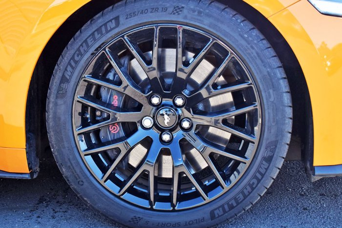 2019 Ford Mustang GT FN MY19 Orange Fury