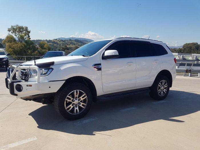 2017 Ford Everest Trend UA 4X4 Dual Range Cool White