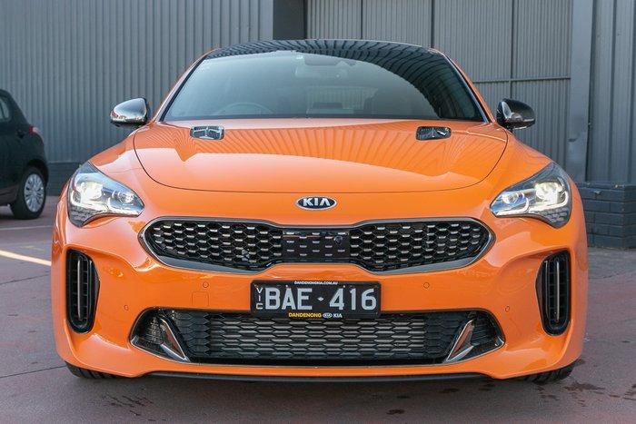 2020 Kia Stinger GT CK MY20 Neon Orange