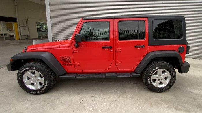 2015 Jeep Wrangler Unlimited Sport JK MY15 4X4 Dual Range Orange