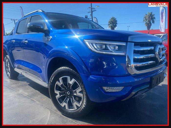 2021 GWM Ute Cannon-X NPW MY20 BLUE SAPphire