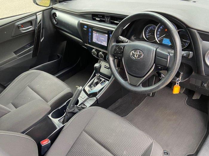 2018 Toyota Corolla Ascent ZRE182R Silver Pearl