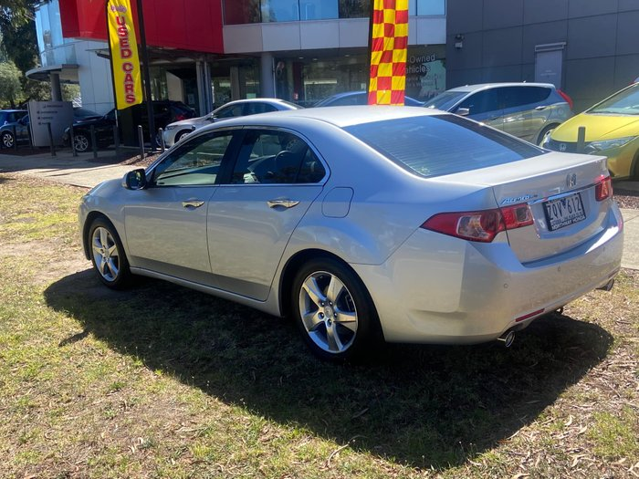 2012 Honda Accord Euro 8th Gen MY13 Alabaster Silver