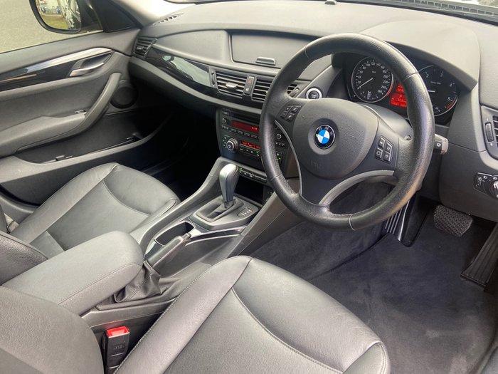 2010 BMW X1 xDrive20d E84 Four Wheel Drive Black