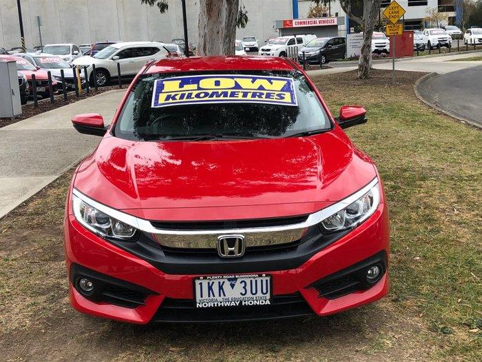 2017 Honda Civic VTi-L 10th Gen MY17 Rally Red