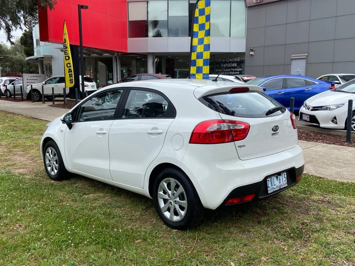 2013 Kia Rio S UB MY13 Clear White