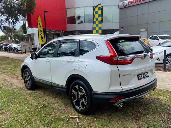 2019 Honda CR-V VTi-S RW MY20 4X4 On Demand Platinum White