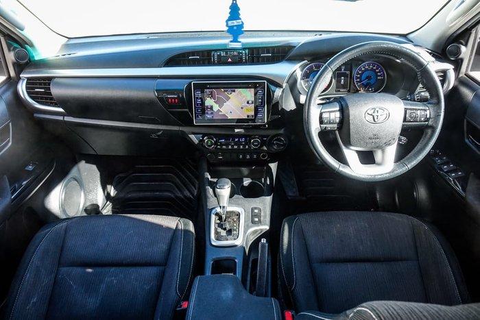2017 Toyota Hilux SR5 GUN126R 4X4 Dual Range Crystal Pearl