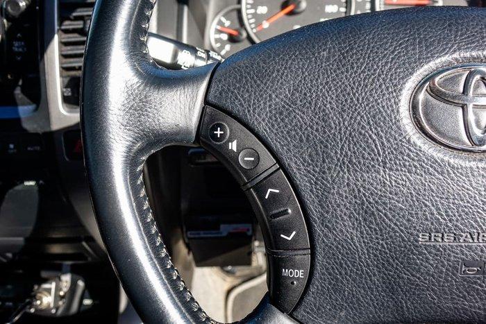 2008 Toyota Landcruiser Prado GXL KDJ120R 4X4 Constant Charcoal Grey