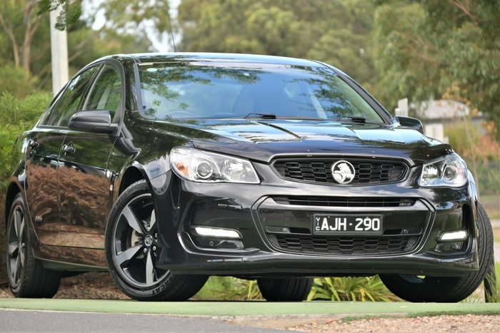 2016 Holden Commodore SV6 Black VF Series II MY16 Phantom