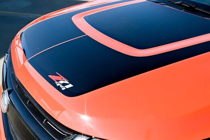 2019 Holden Colorado Z71 RG MY20 4X4 Dual Range Orange