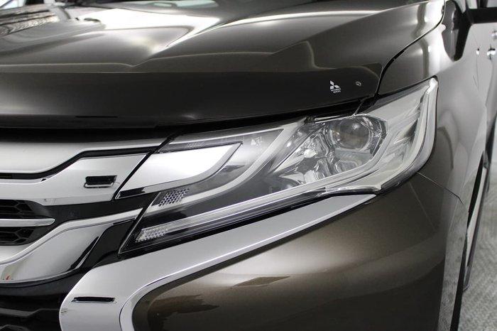 2016 Mitsubishi Pajero Sport GLS QE MY16 4X4 Dual Range Bronze