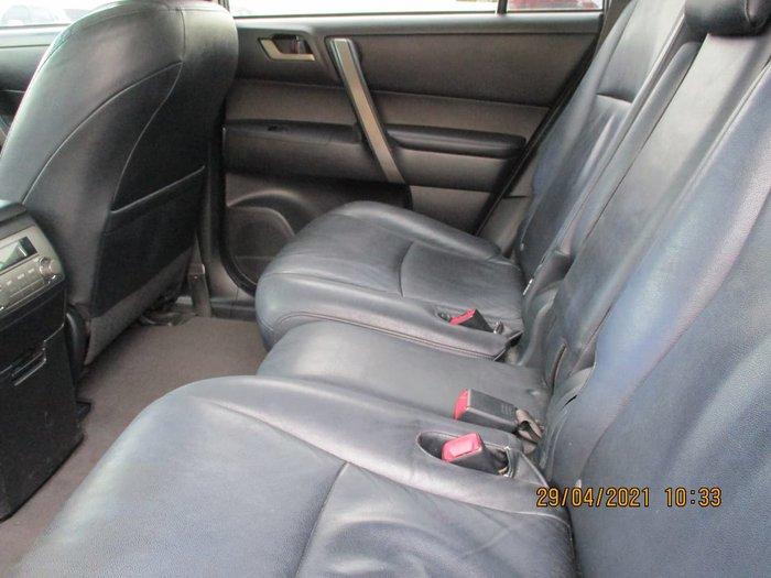 2007 Toyota Kluger KX-S GSU45R AWD Grey