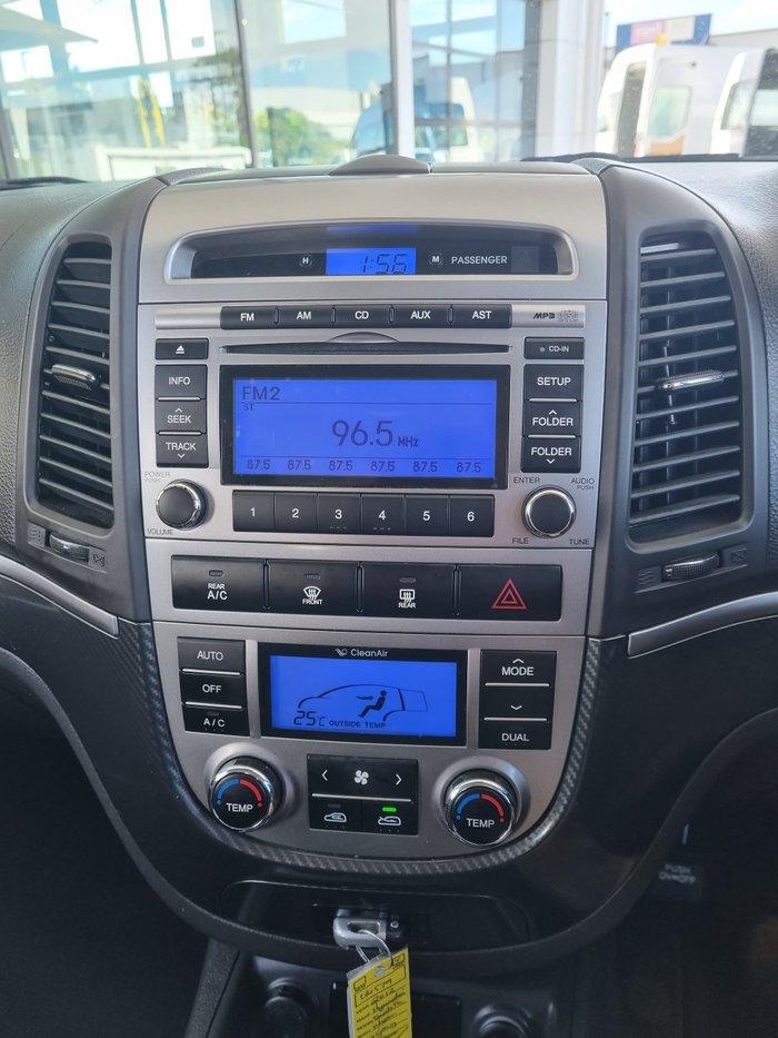 2009 Hyundai Santa Fe Elite CM MY10 4X4 On Demand Carbon Grey