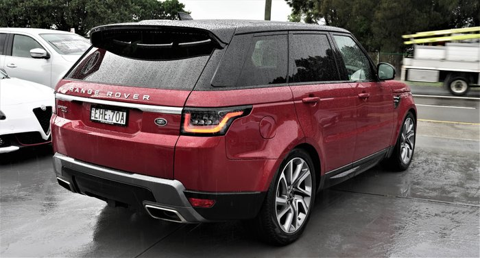 2019 Land Rover Range Rover Sport Si4 PHEV HSE L494 MY20 4X4 Constant Firenze Red