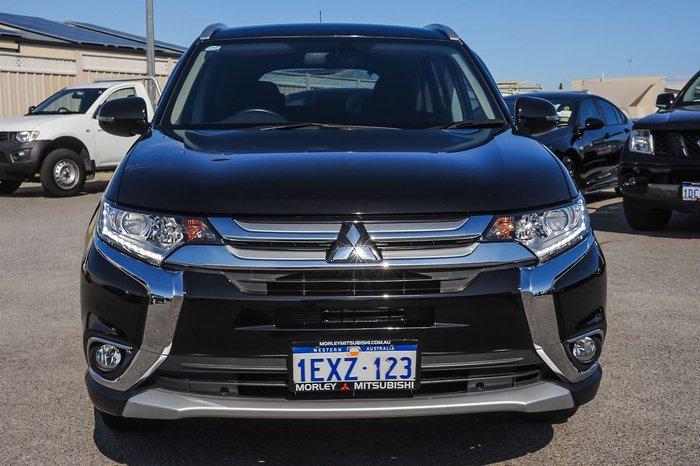2015 Mitsubishi Outlander XLS ZK MY16 4X4 On Demand Black