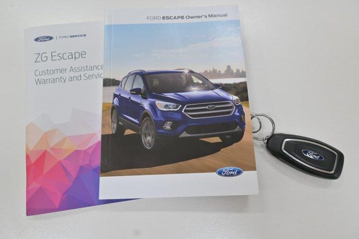 2019 Ford Escape Ambiente ZG MY19.25 White