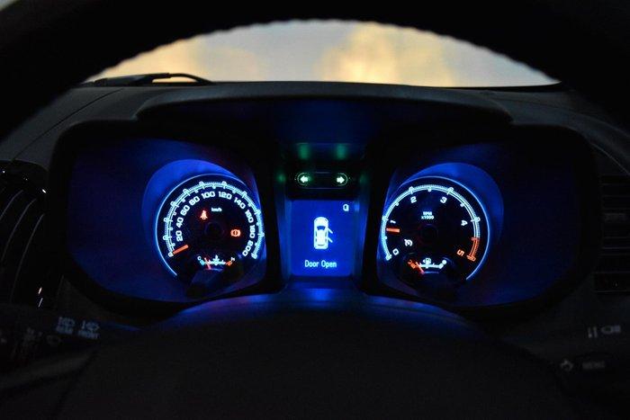 2016 Holden Colorado 7 Trailblazer RG MY16 4X4 Dual Range Black Sapphire