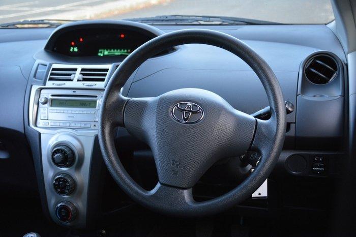 2007 Toyota Yaris YR NCP90R GREY