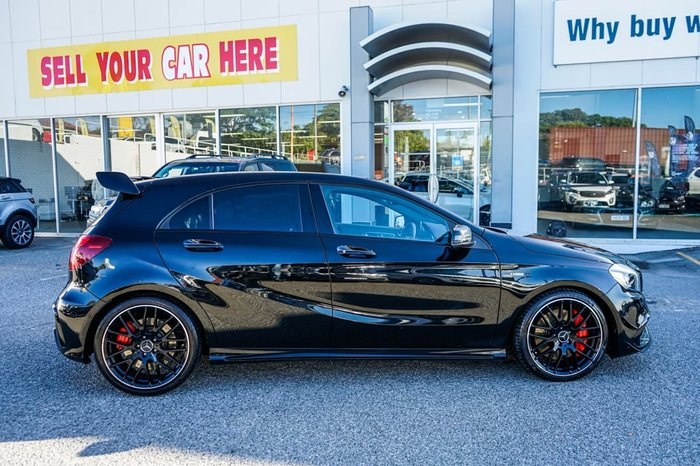2017 Mercedes-Benz A-Class A45 AMG W176 Four Wheel Drive Black
