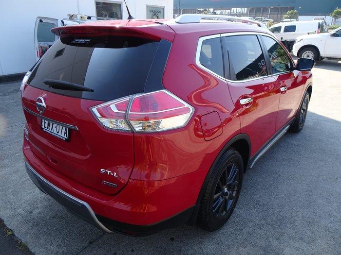 2016 Nissan X-TRAIL ST-L N-SPORT Black T32 4X4 On Demand Burning Red