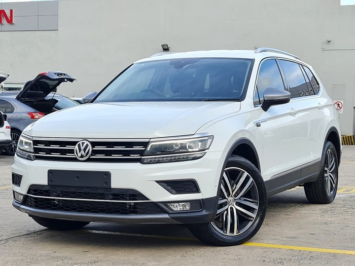 2018 Volkswagen Tiguan 140TDI Highline Allspace 5N MY18 Four Wheel Drive White