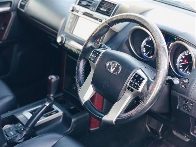 2014 Toyota Landcruiser Prado VX KDJ150R MY14 4X4 Dual Range WHITE