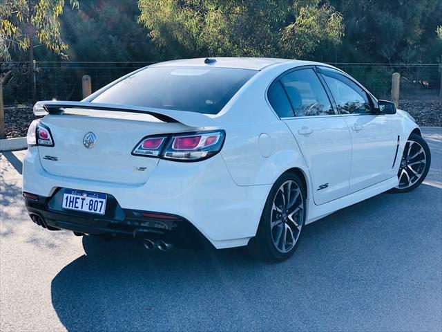 2015 Holden Commodore SS V VF Series II MY16 WHITE