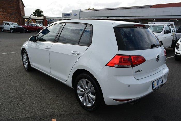2014 Volkswagen Golf 90TSI Comfortline 7 MY15 White