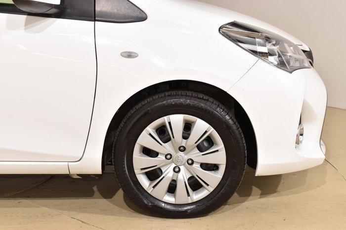 2016 Toyota Yaris SX NCP131R Glacier White