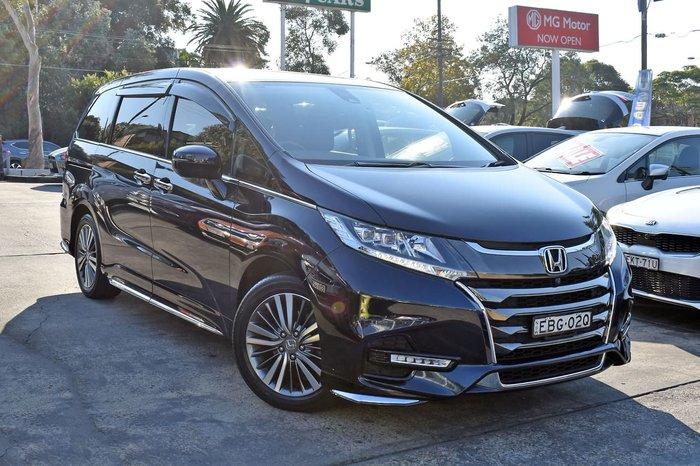 2019 Honda Odyssey VTi-L 5th Gen MY19 Black